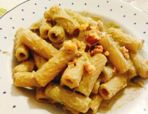 Nuova ricetta on-line: Pasta con crema di broccoli e noci!!!